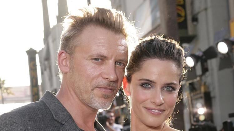 XFiles I Want to Believe Hollywood Premiere 2008 Callum Rennie Amanda Peet