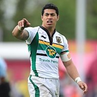 George Pisi scored two tries as Northampton defeated Gloucester