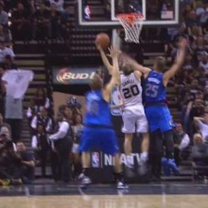 Ginobili's And-one