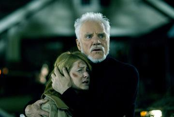 Scout Taylor-Compton and Malcolm McDowell in MGM/Dimension Films' Halloween