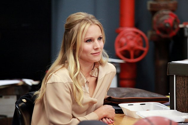"Kristen Bell stars as Jeannie Van Der Hooven in ""House of Lies."""
