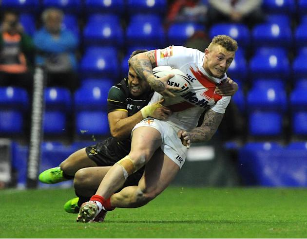Rugby League - England v Exiles - Halliwell Jones Stadium