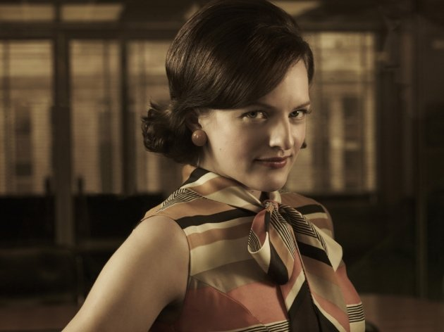 Elizabeth Moss as Peggy in …