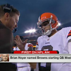 Cleveland Browns QB Brian Hoyer named starter for Week 1