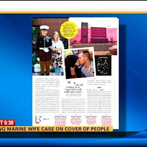 Missing Marine wife case on the cover of People
