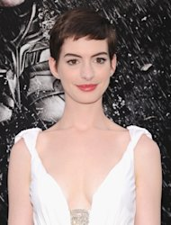 Anne Hathaway attends &#39;The Dark Knight Rises&#39; premiere at AMC Lincoln Square Theater on July 16, 2012 in New York City -- Getty Images