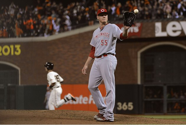 6 Division Series - Cincinnati Reds v San Francisco Giants - Game One