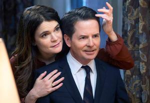 Betsy Brandt and Michael J. Fox | Photo Credits: Eric Liebowitz/NBC