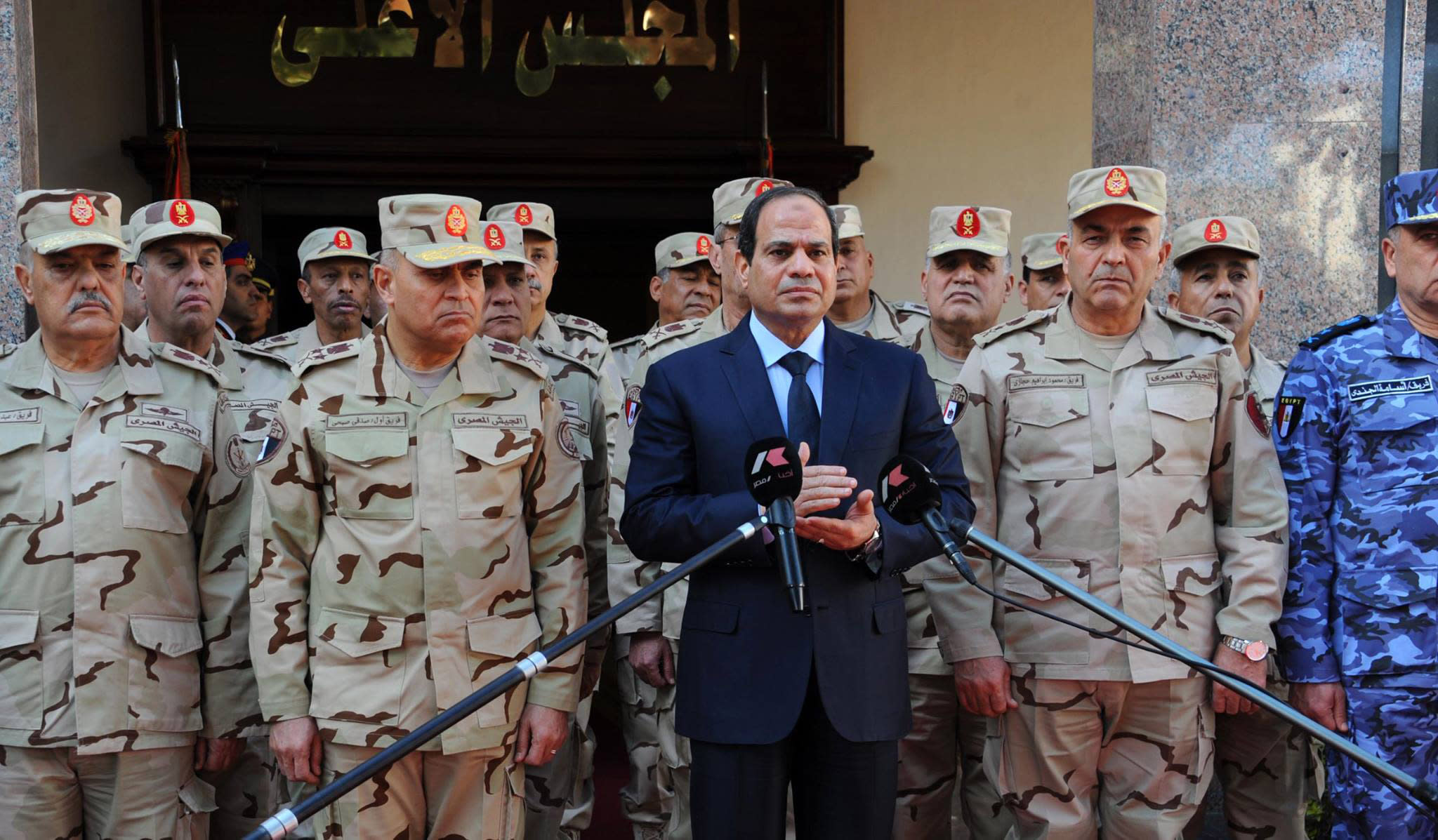 Egypt's battle against jihadists will be a long one: Sisi