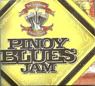 The cover of a new album with 18 tracks from 7 Pinoy blues artists