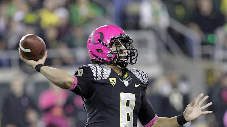 Ducks on top, rest of Pac-12 filled with surprises