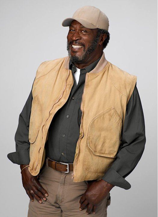 John Amos stars as Buzz in Men in Trees.
