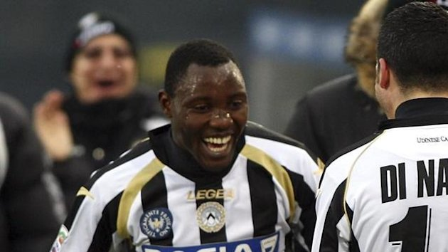 Kwadwo Asamoah at Udinese (AFP)