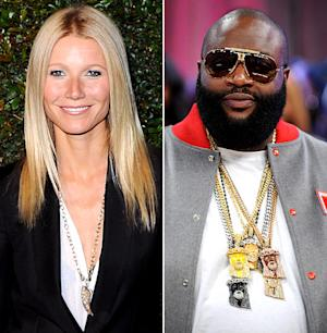 "Gwyneth Paltrow: ""Rick Ross Puts Me in a Good Mood"""
