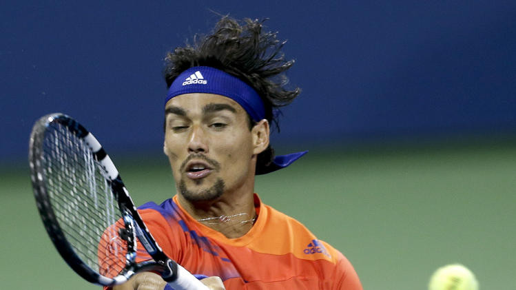 Fognini advances at St. Petersburg Open