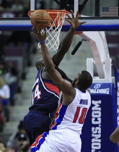 Pistons beat Hawks 104-88 in final preseason game
