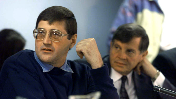 File photo of apartheid death-squad leader Eugene de Kock appearing before the Truth And Reconciliation Commission (TRC) amnesty hearing in Pretoria