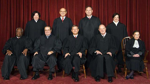 Left trying to intimidate the Supreme Court?