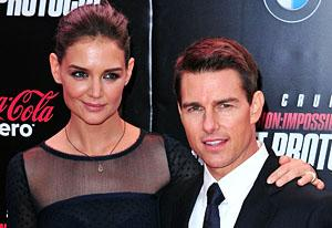 Katie Holmes and Tom Cruise | Photo Credits: James Devaney/WireImage