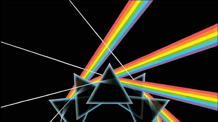 "In this box set cover image released by Capitol Records,  Pink Floyd's, ""The Dark Side of the Moon Immersion,"" is shown. (AP Photo/Capitol Records)"