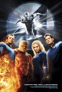 Poster of Fantastic Four: Rise of the Silver Surfer