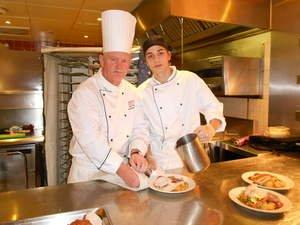 Marriott Culinary Apprenticeship Academy Welcomes Young Student to Hotel's Culinary Facilities