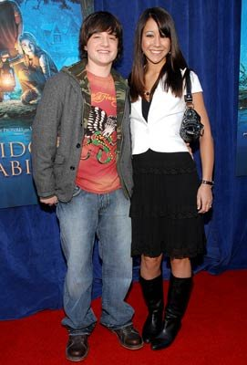 Josh Hutcherson and guest at the Hollywood premiere of Walt Disney Pictures' Bridge to Terabithia