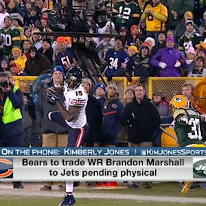 New York Jets wide receiver Percy Harvin likely out after trade for wide receiver Brandon Marshall