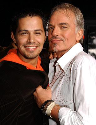 Premiere: Jay Hernandez and Billy Bob Thornton at the Hollywood premiere of Universal Pictures' Friday Night Lights - 10/6/2004