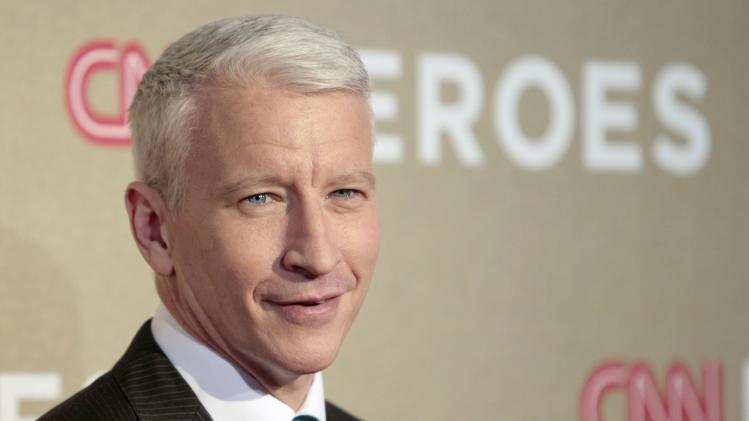 Host Anderson Cooper arrives for the CNN Heroes: An All-Star Tribute in Los Angeles, California