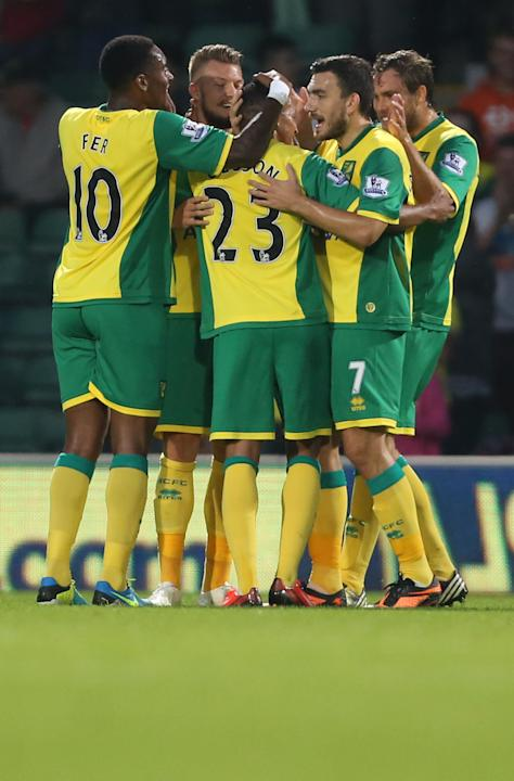 Soccer - Capital One Cup - Second Round - Norwich City v Bury - Carrow Road
