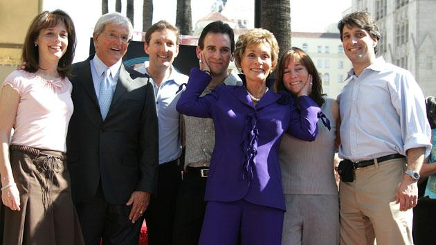 Judge Judy Receives A Star On The Walk Of Fame