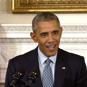 """President Obama: Pope a """"good man"""" with """"moral imagination"""""""