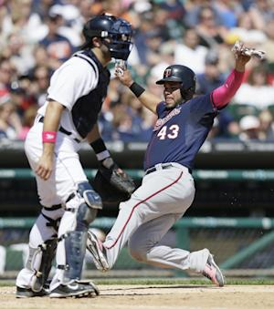 Twins rally past careless Tigers 4-3