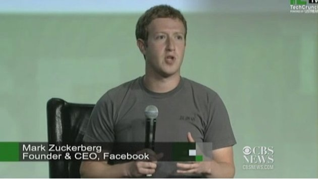 Zuckerberg speaks publicly …