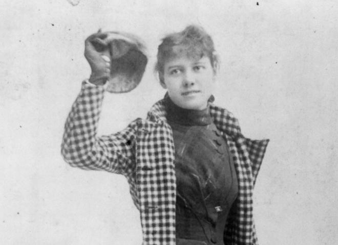 ​Almanac: Globetrotting journalist Nellie Bly