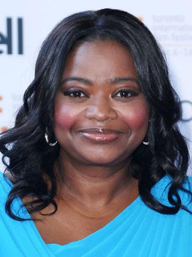 Shoulder-length: Octavia Spencer