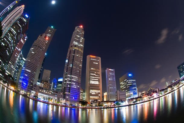 Singapore's Central Business District. (Image courtesy of Singapore Tourism Board and Singapore in Pixels Photo Contest.)