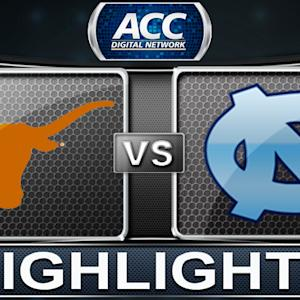 Texas vs North Carolina | 2013 ACC Basketball Highlights