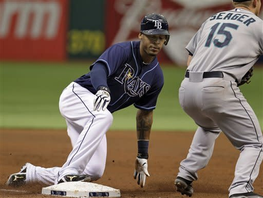 Rays beat Mariners 4-3 to finish 4-game sweep