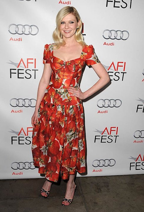 Kirsten Dunst Melancholia Screening