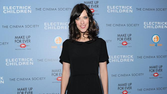 """FILE - In this Monday, March 4, 2013 file photo, writer and director Rebecca Thomas attends a special screening of """"Electrick Children"""" hosted by the Cinema Society and Make Up For Ever  at the IFC Center in New York. (Photo by Evan Agostini/Invision/AP, File)"""