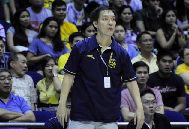 NU Coach Eric Altamirano and the Bulldogs are in the Final Four. (NPPA Images)