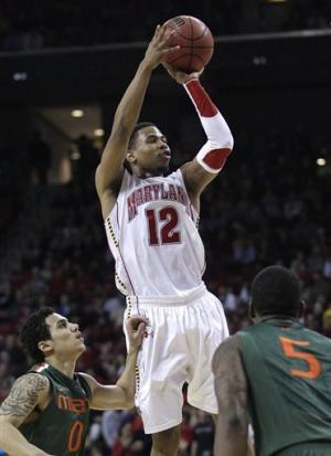 Maryland rallies past Miami 75-70