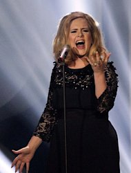 Adele sings the theme tune to Skyfall