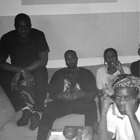 Are Kanye West And A$AP Rocky Working On New Music Together?