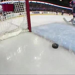 Alex Tanguay Goal on Ben Scrivens (10:31/2nd)