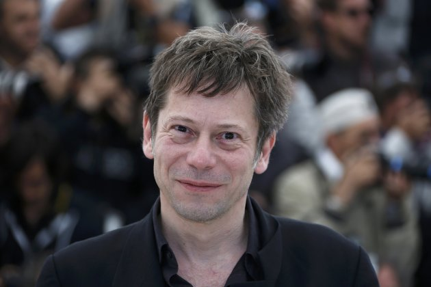 "Cast member Mathieu Amalric poses during a photocall for the film ""La Venus a la Fourrure"" at the 66th Cannes Film Festival"