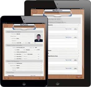 MacPractice Clipboard 4.2 App for iPad and iPad mini Adds Customization and Enhances Registration Integration