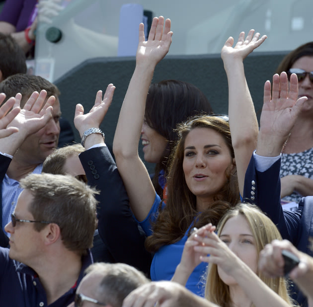 Kate Middleton, Prince William at the Olympics